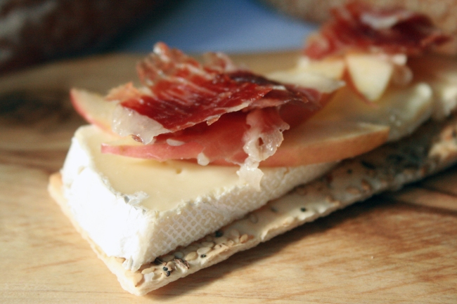 Brie, Apple & Jamon Iberico Recipe