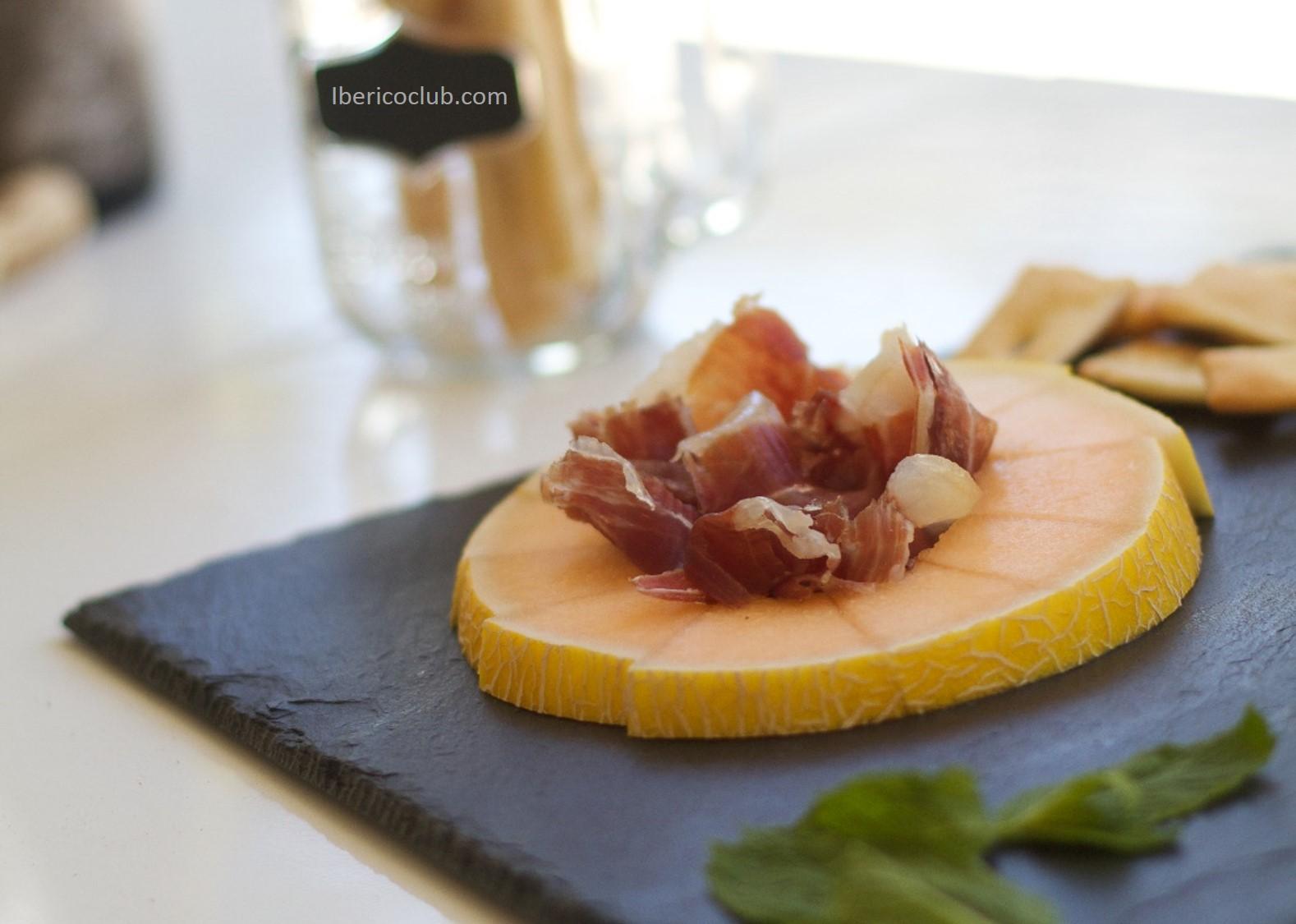 Melon with Jamon Iberico de bellota