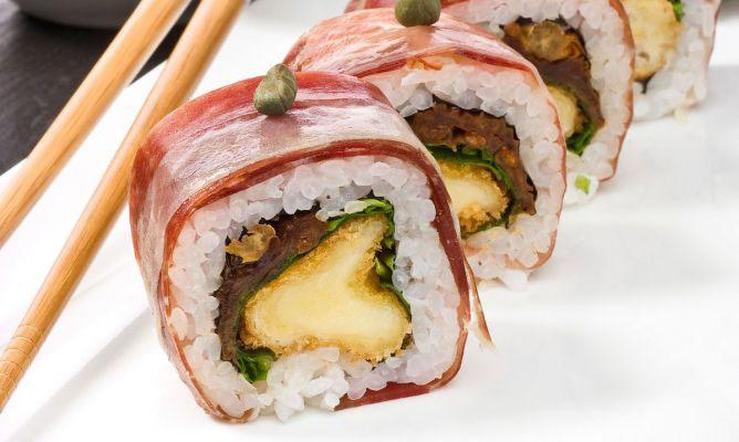 sushi Haslev forkælelse for ham